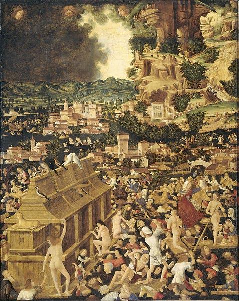 Il Diluvio Universale (circa 1450)