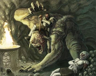 Grendel, the beast of Hrothgar