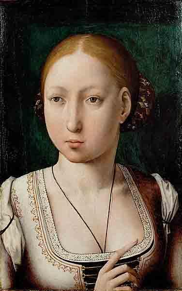 Портрет Джоанни 'Божевільної', королеви Кастилії та Арагону.  (Публічний домен)
