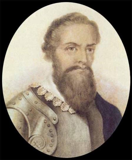 Pedro Alvares Cabral (George Mathias Heaton (1804 - depois de 1855) e Eduard Rensburg (1817–1898) / Domínio Público)