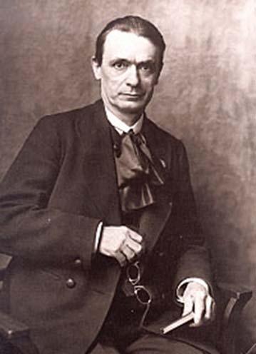Rudolf Steiner (1861-1925), founder of Steiner School system of education