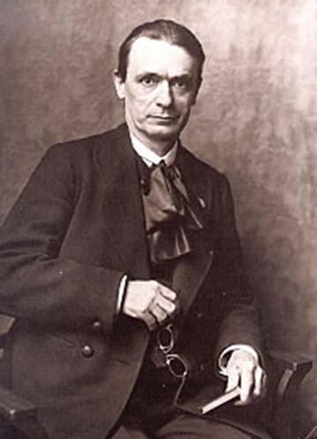 Rudolf Steiner (1861-1925), founder of Steiner School system of education