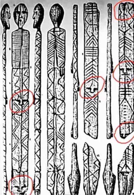 Does the Shigir Idol contain coded messages?  Appear