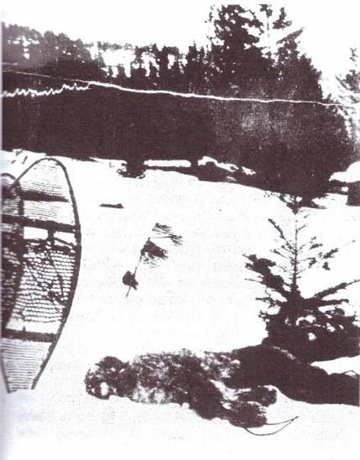 La foto del 1894 del bigfoot. (L'autore ha fornito)