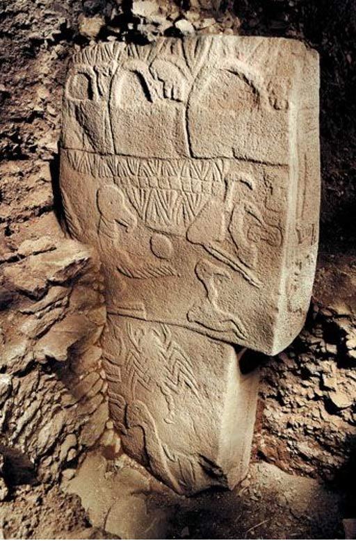 """Il simbolo """"Tre cesti"""" sul montante"""