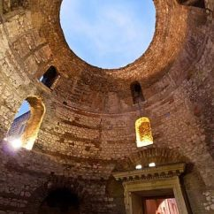 Basement Living Rooms Room Wall Art Ideas The Palace Of Diocletian: Roman Retirement Home And ...