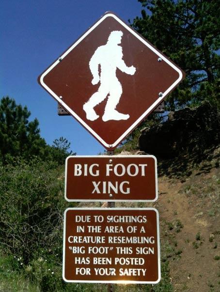 Muestra en la carretera de Pikes Peak