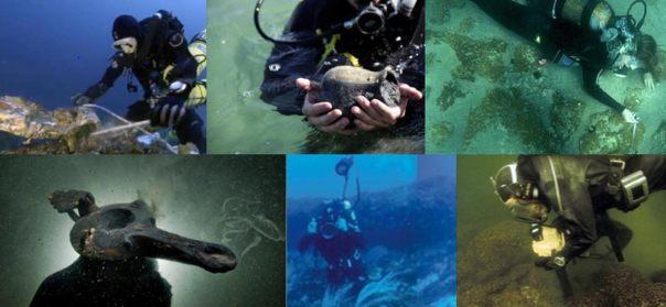 Top 10 Underwater Descubrimientos de 2015