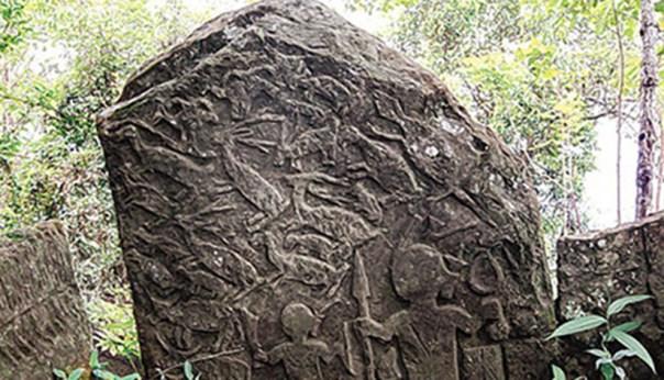 ruinas antiguas en Mizoram