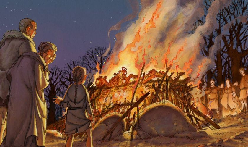 Image result for mesolithic age fire