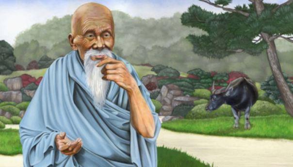 Una ilustración de Lao-Tzu.