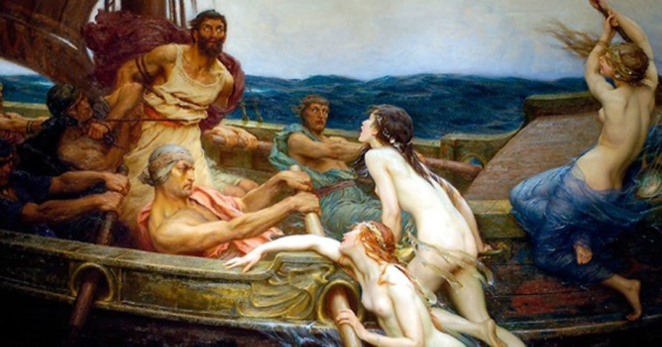 Image result for siren greek mythology