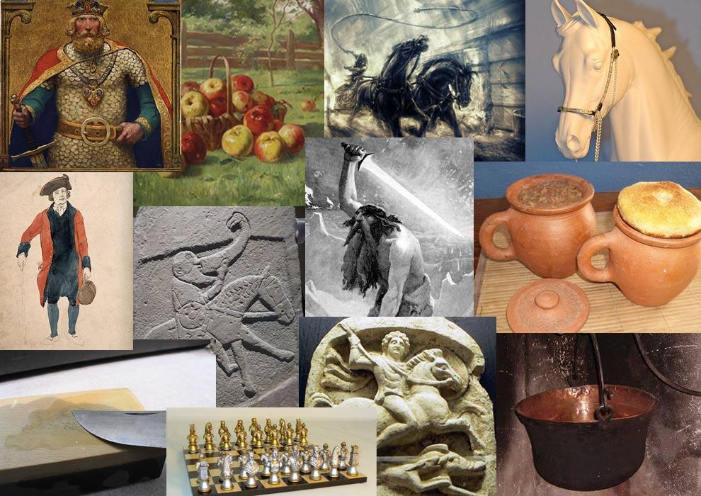 The Thirteen Legendary Treasures of Britain