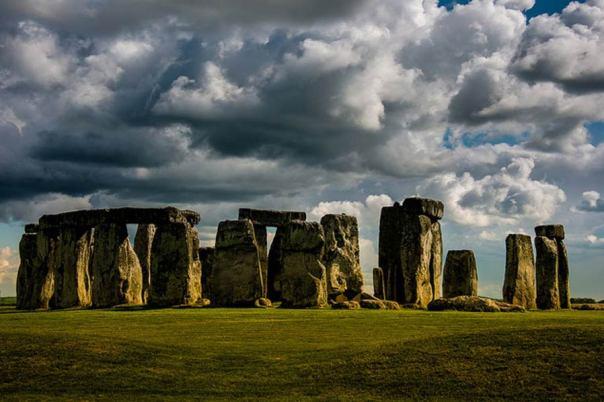 El famoso monumento de Stonehenge, en Wiltshire, Inglaterra.