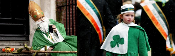 Modern-day celebrations of St Patrick's Day