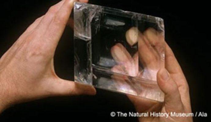 Sunstone Mythical usato come antico strumento di navigazione