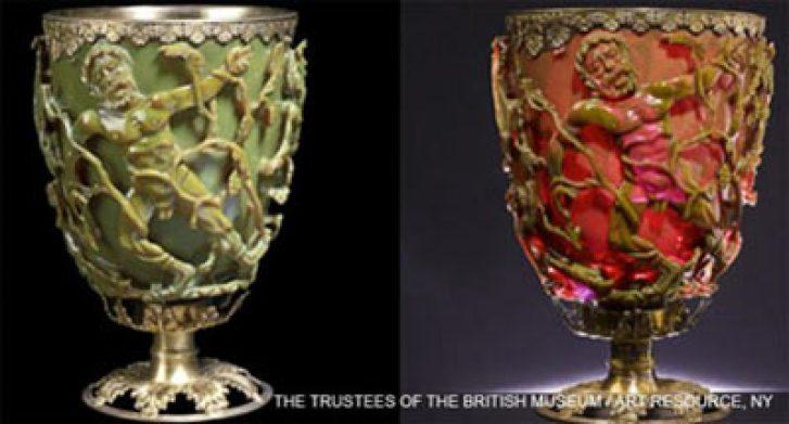 1.600 anni calice dimostra che i romani usavano nanotecnologie