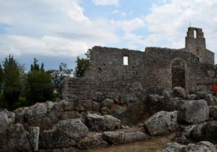 The ruins in Epirus believed to be the Necromanteion