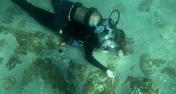 Enorme ciudad de griego antiguo se encontró bajo el agua en el mar Egeo