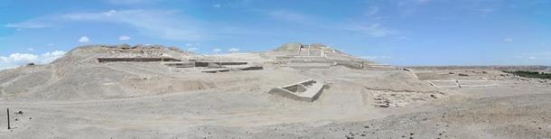 Complejo del templo antiguo en Cahuachi