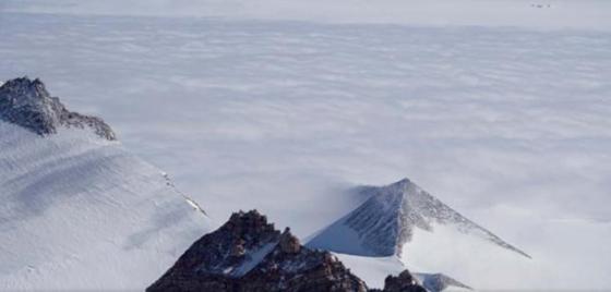An Antarctic pyramid.