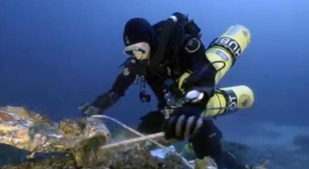 Nuevos artefactos espectaculares recuperados de 2.050 años de Antikythera Naufragio
