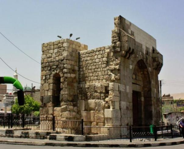 Bab Touma puerta de Damasco.