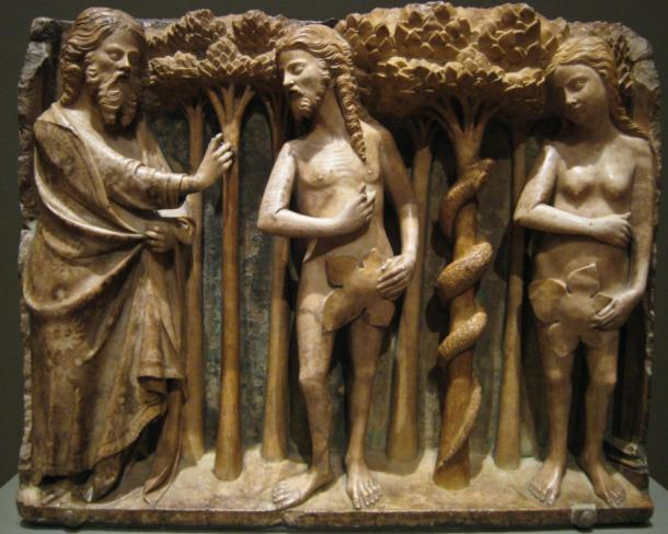 Bartolomeu Rubio, Il Signore che rimprovera Adamo ed Eva, ca. 1362