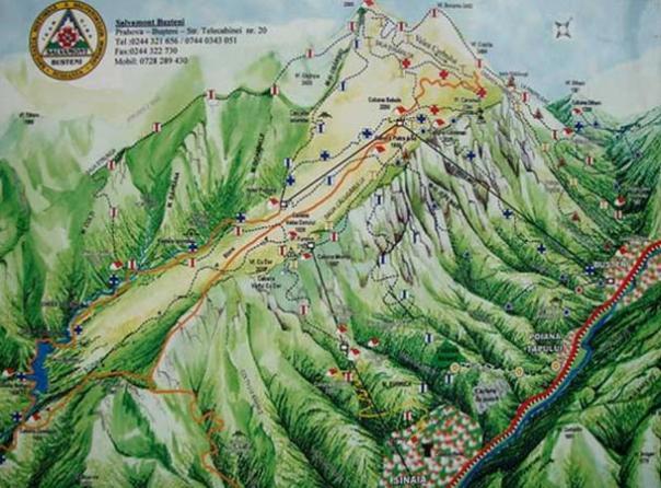 Secretos en las montañas de Bucegi