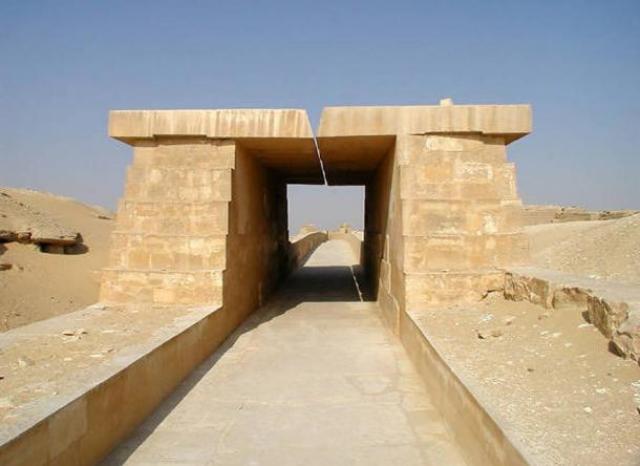Causeway of the Pyramid of Unas - Después de décadas de búsqueda, la Calzada de la Gran Pirámide de Egipto se ha encontrado
