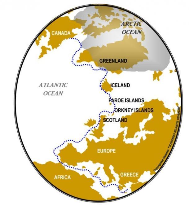 Διασχίζοντας τον Ατλαντικό. (Christos A. Djonis)