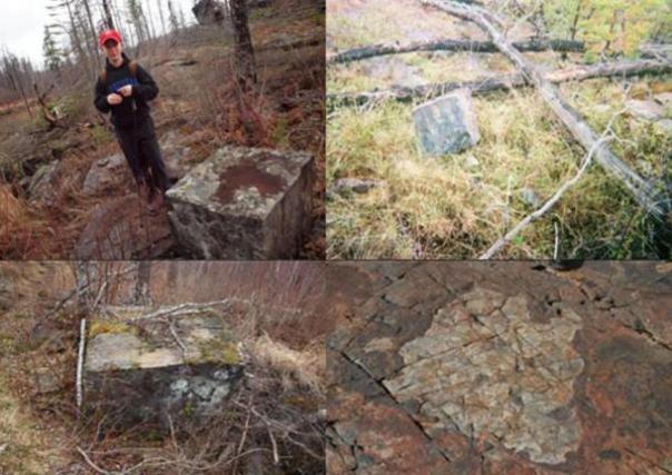 Rocas Cubed se encuentran en la zona.