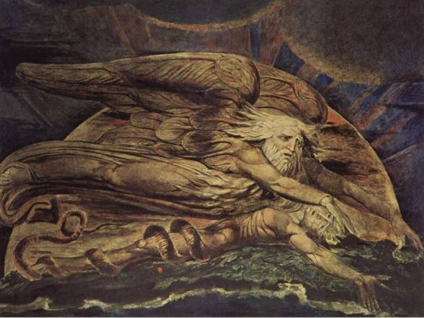 Elohim creò Adamo di William Blake