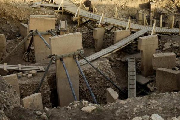 Gobekli Tepe sitio arqueológico.