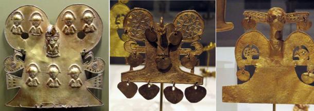 Gold artifacts from the Muisca tribe - La búsqueda de El Dorado - Lost City of Gold