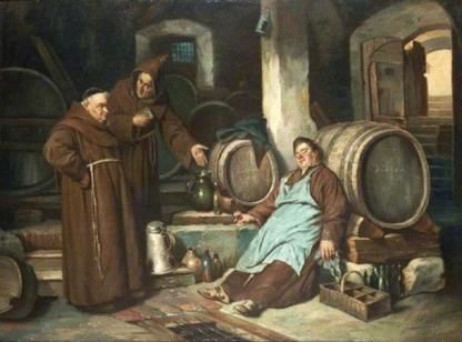 Image result for medieval manuscript drunk