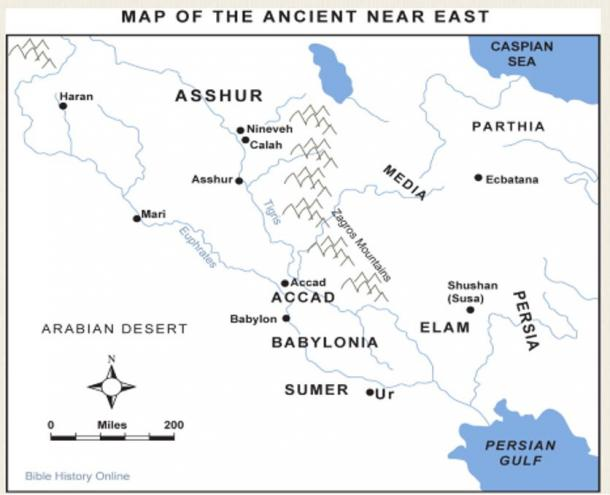 Mappa del credito: la storia biblica in linea