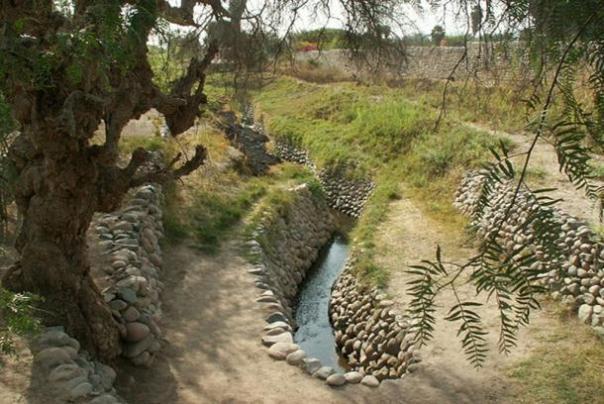 canales de riego de Nasca.