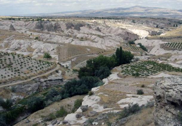 Provincia di Nevsehir in Cappadocia, Turchia.