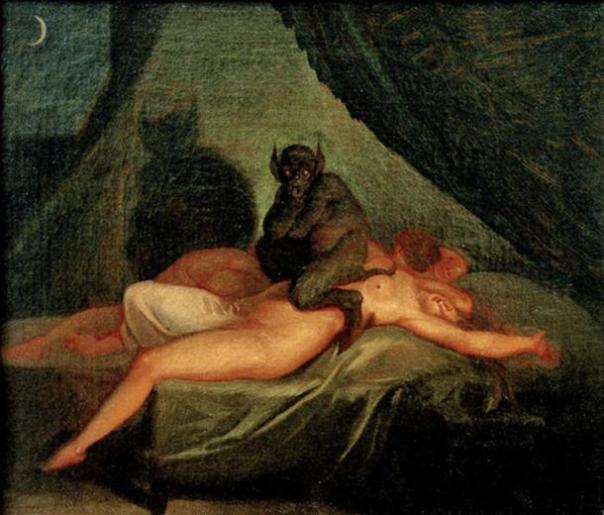 Nightmare (1800) de Nicolai Abraham Abildgaard.