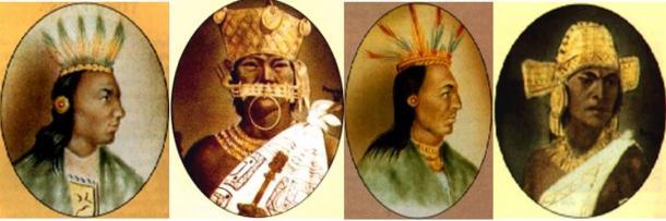 Ritratti di governanti di Muisca