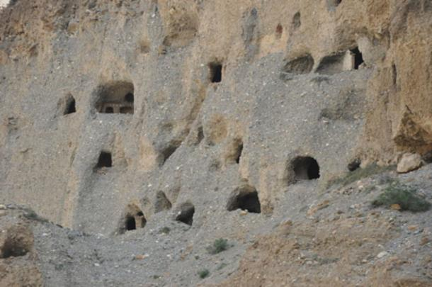 Alcune delle grotte.