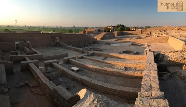 Templo de millones de años en Luxor.