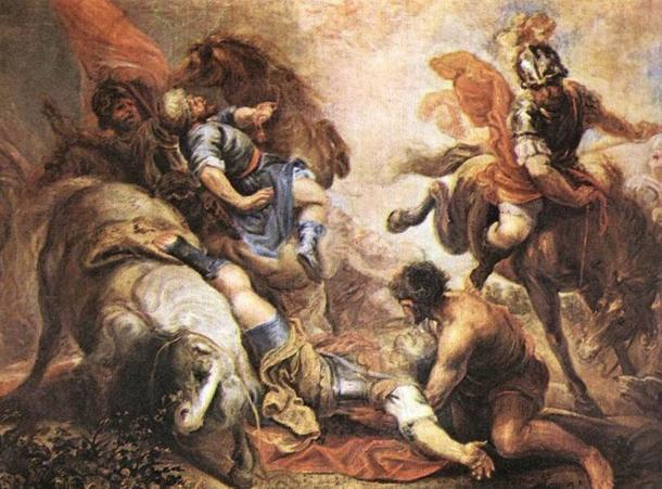 The Conversion of Saint Paul – Paul and his companions are knocked to the ground by a resounding boom and brilliant light. Did a meteor cause this ancient event?
