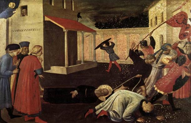The Martyrdom of St. Mark by Fra Angelico