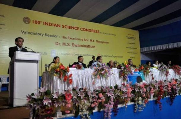 Valedictory Sessione del 100 ° Congresso Science indiana in Kolkata