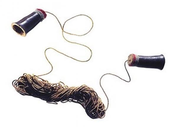 Il dispositivo di comunicazione antica enigmatico.  Credit: Smithsonian National Museum of the American Indian