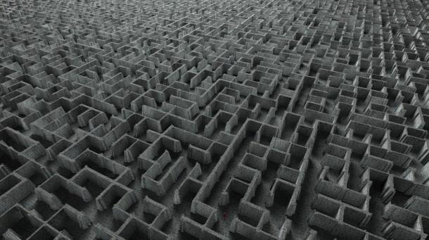Un labirinto estremamente complesso