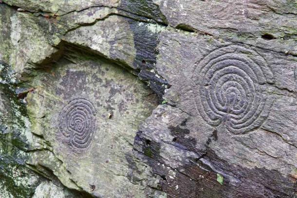 The Curious Case of the Rocky Valley Labyrinths