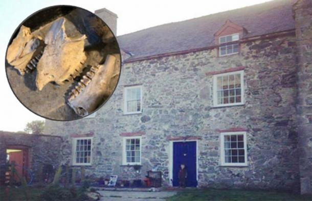 Hidden Welsh Witchcraft Den And Demon Traps Discovered In Old Home